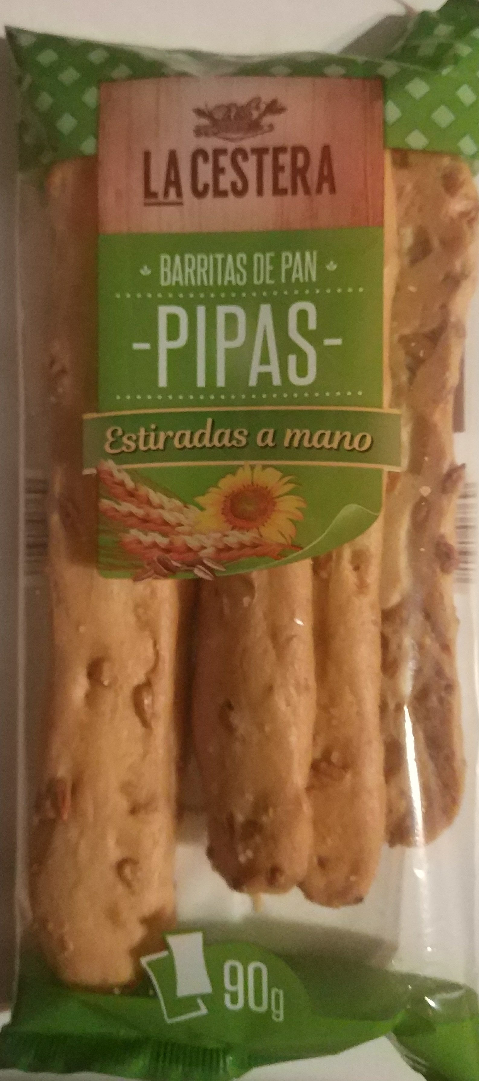 Barritas de Pan -Pipas- - Product