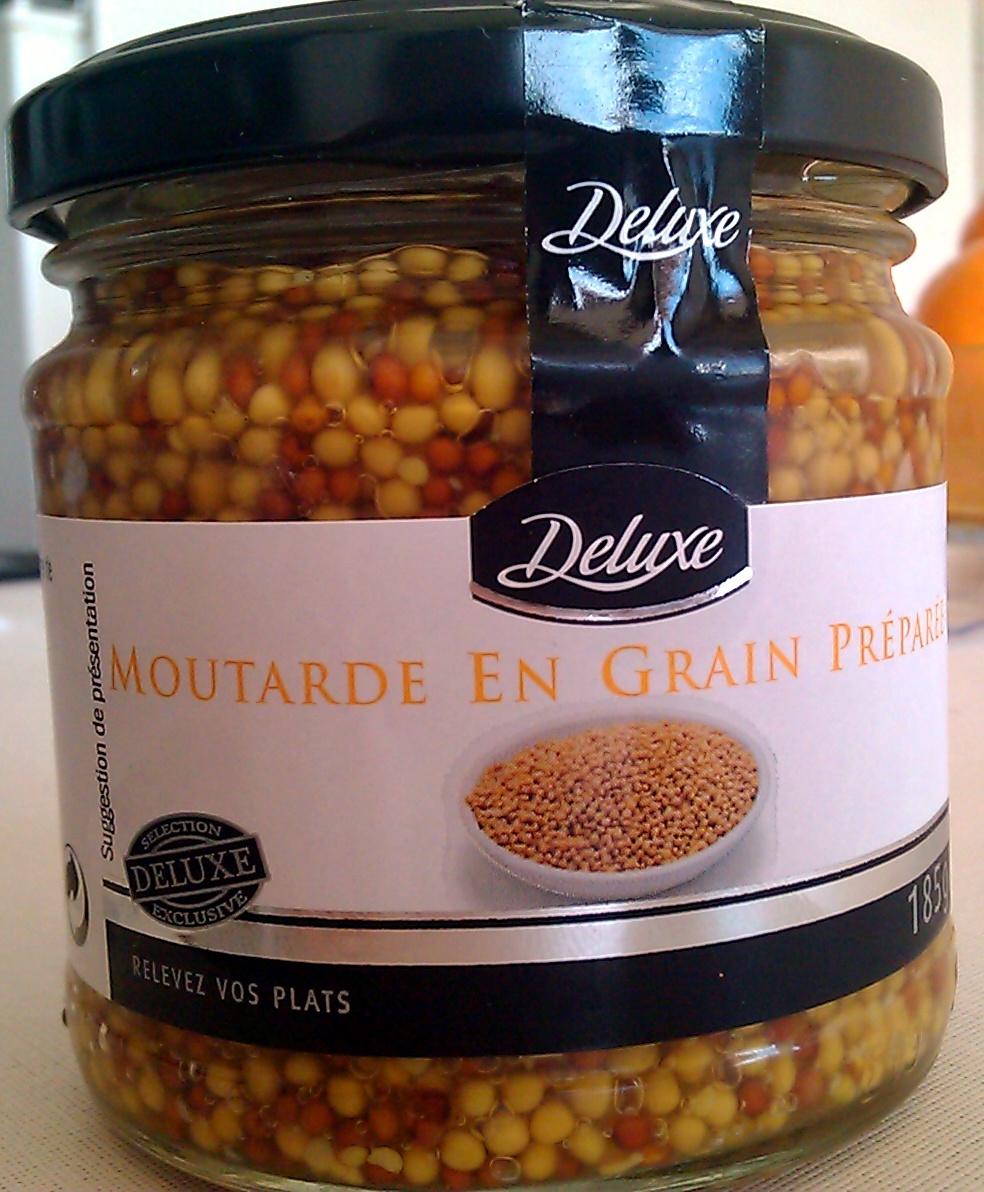 Moutarde en grain préparée - Product