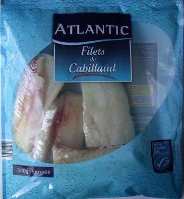 Filets de Cabillaud portionnables - Produit