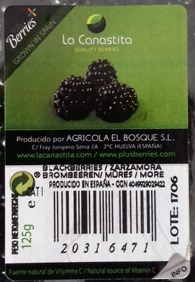 Moras - Ingredients
