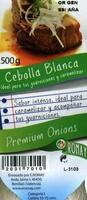 """Cebollas """"Romay"""" - Ingredients"""