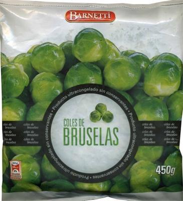 "Coles de Bruselas congeladas ""Barnetti"" - Produit"