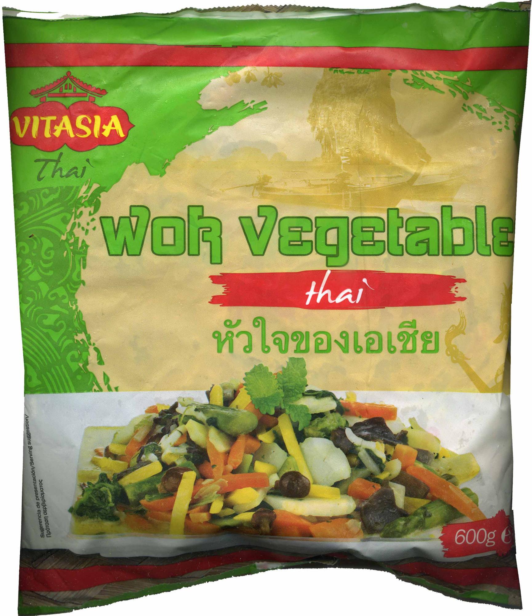 Wok vegetable thai - Produit - es