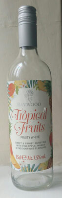Tropical fruits fruity white - Product