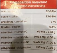 Figue de Barbarie - Ingredientes - fr