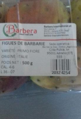 Figue de Barbarie - Información nutricional