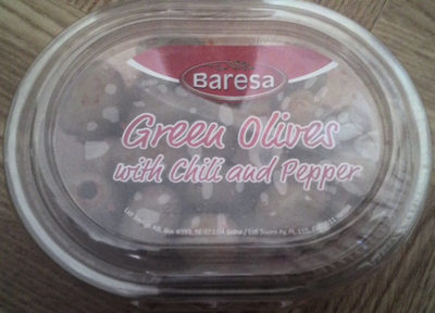 Olives piquantes dénoyautées - Produit - sv