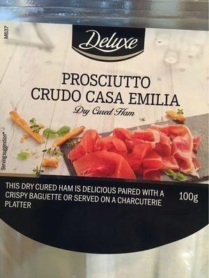 Prosciutto Crudo, Salzig - Produit - fr