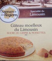 Gâteau moelleux du Limousin - Produit - fr