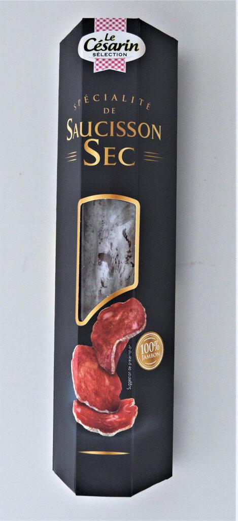 Spécialité saucisson sec au jambon - Produit - fr