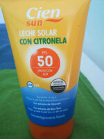 Leche solar con citronella - Producto - en
