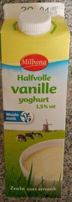 Halfvolle vanille yoghurt - Product