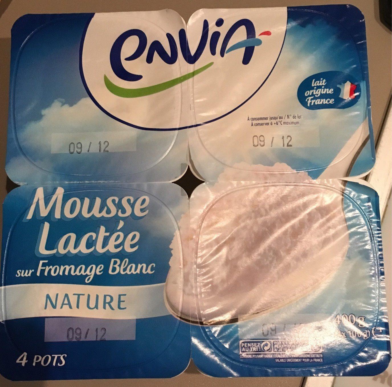 Mousse de crème fouettée - Product - fr