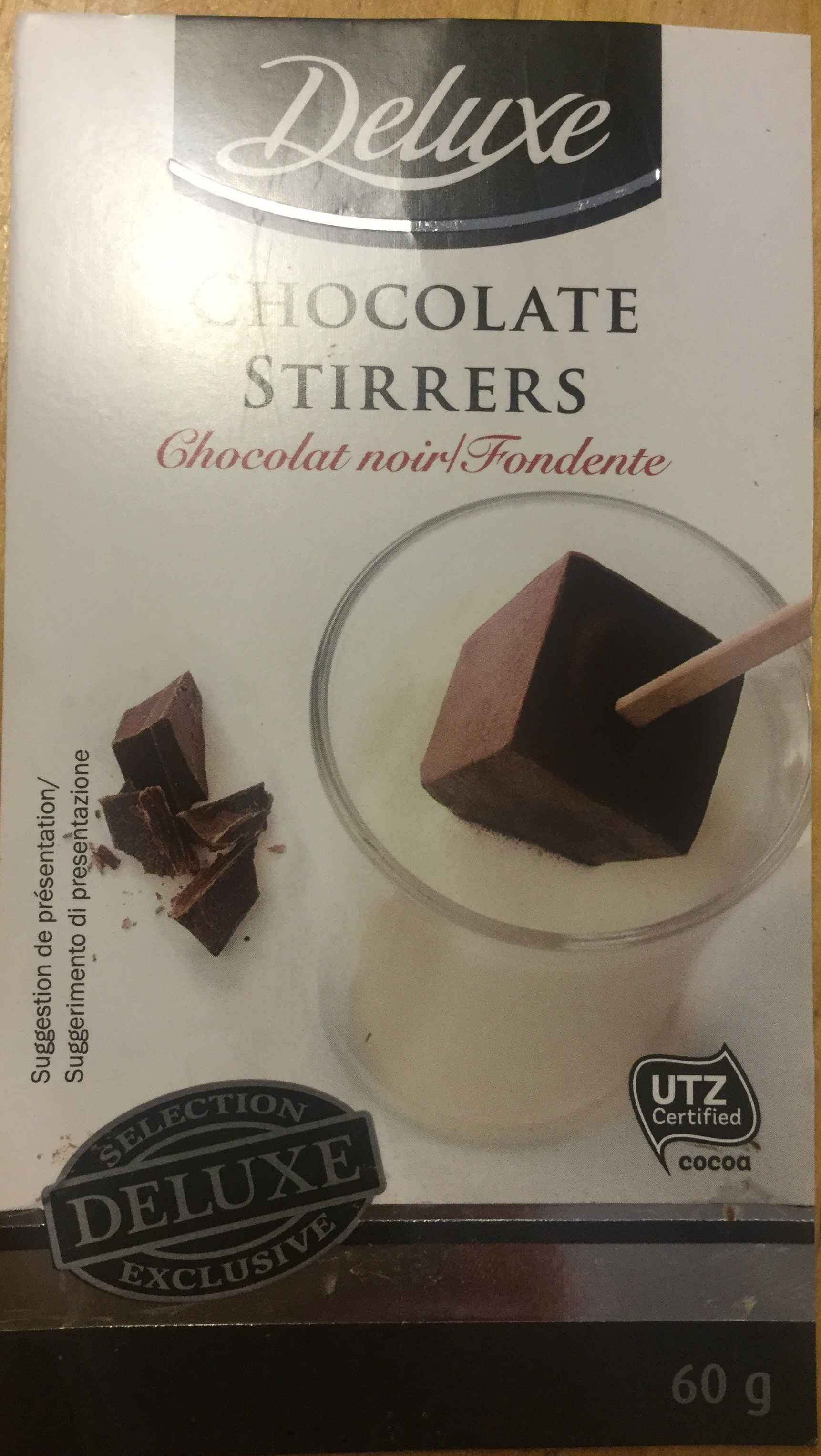 Chocolate stirrers - Product