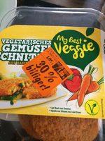 Empanados de verduras vegetarianos - Product - de