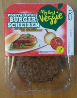 My Best Veggie Hamburguesas vegetarianas - Product
