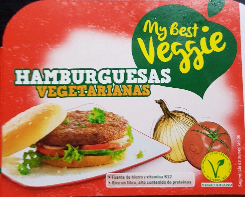 Hamburguesas vegetarianas - Producto - es