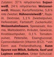 My Best Veggie Hamburguesas vegetarianas - Ingredients