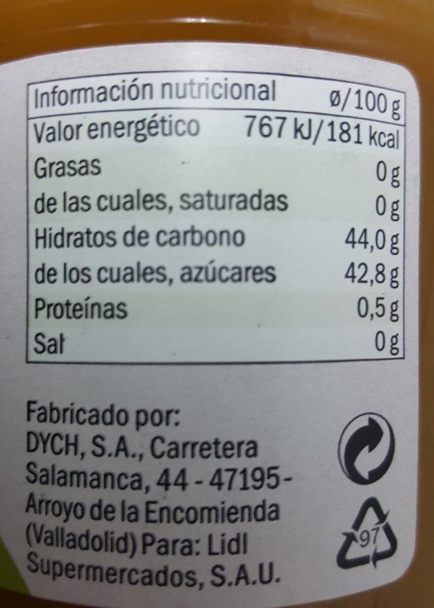 ciruela - Nutrition facts - es