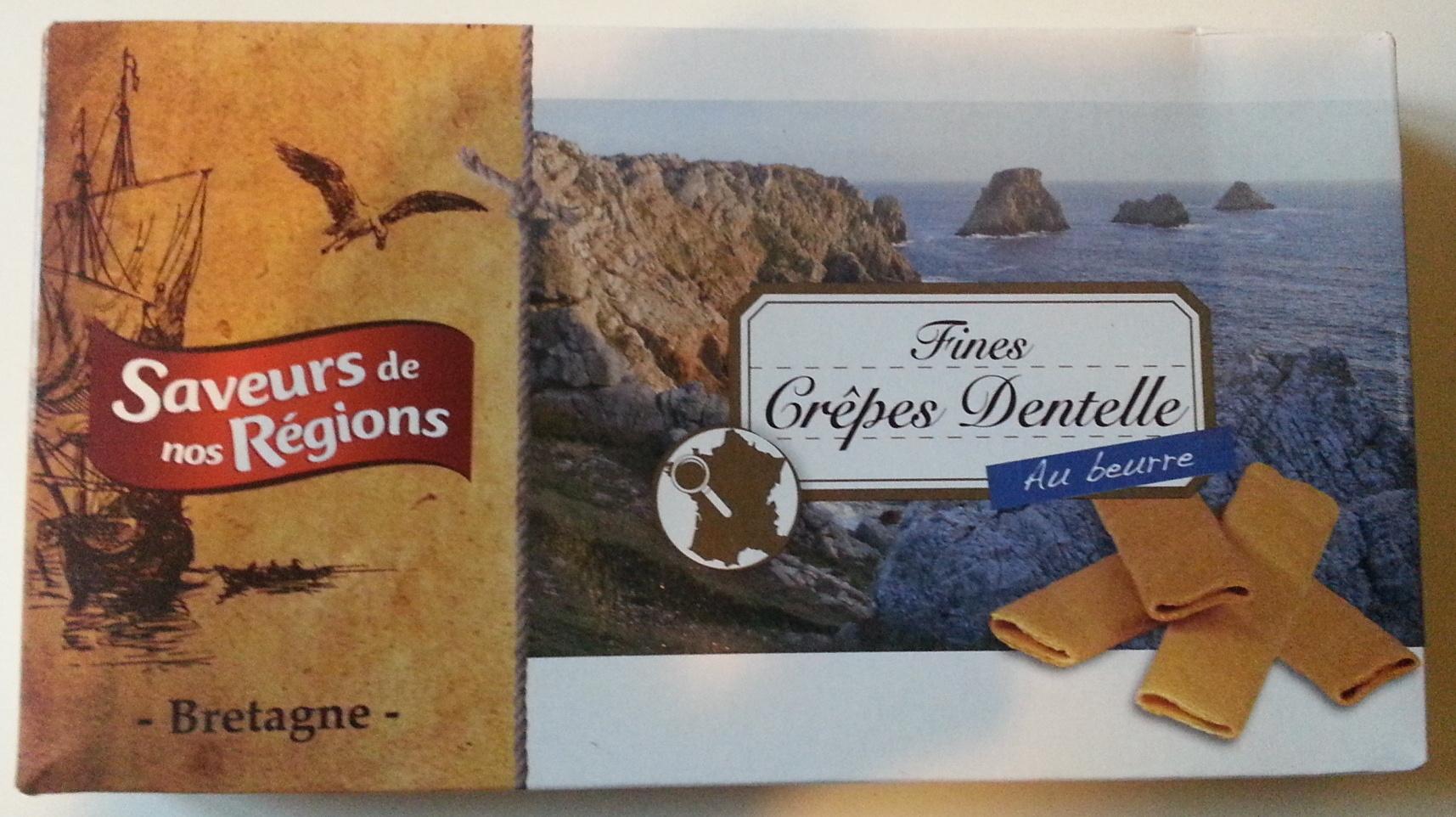 Fines Crêpes dentelle de Bretagne - Produit