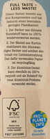 Soja Heidelbeere #foodforfuture - Recycling instructions and/or packaging information - de