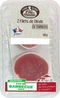 Filets de dinde en tournedos bardés - Product - fr