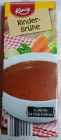 Kania bouillon boeuf - Product
