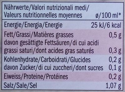 Rindfleischbouillon - Nutrition facts - de