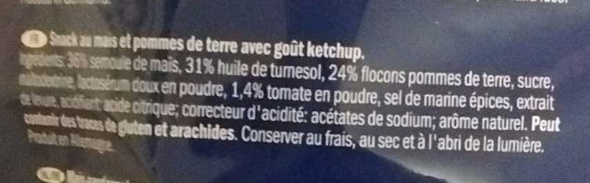 Pommes-snack Tomato Ketchup Flavour - Ingredients