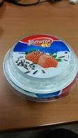préparation au fromage blanc avec préparation à la fraise et aux pépites de chocolat - Product - fr
