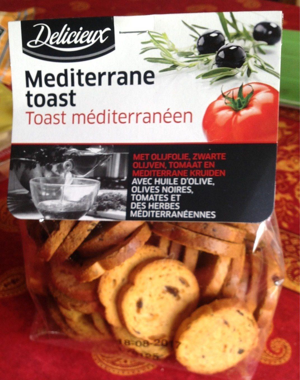 Mediterrane Toast, Toast mit mediterranen Kräutern - Produit - fr