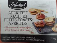 Mediterrane Toast, Toast mit mediterranen Kräutern - Product - nl