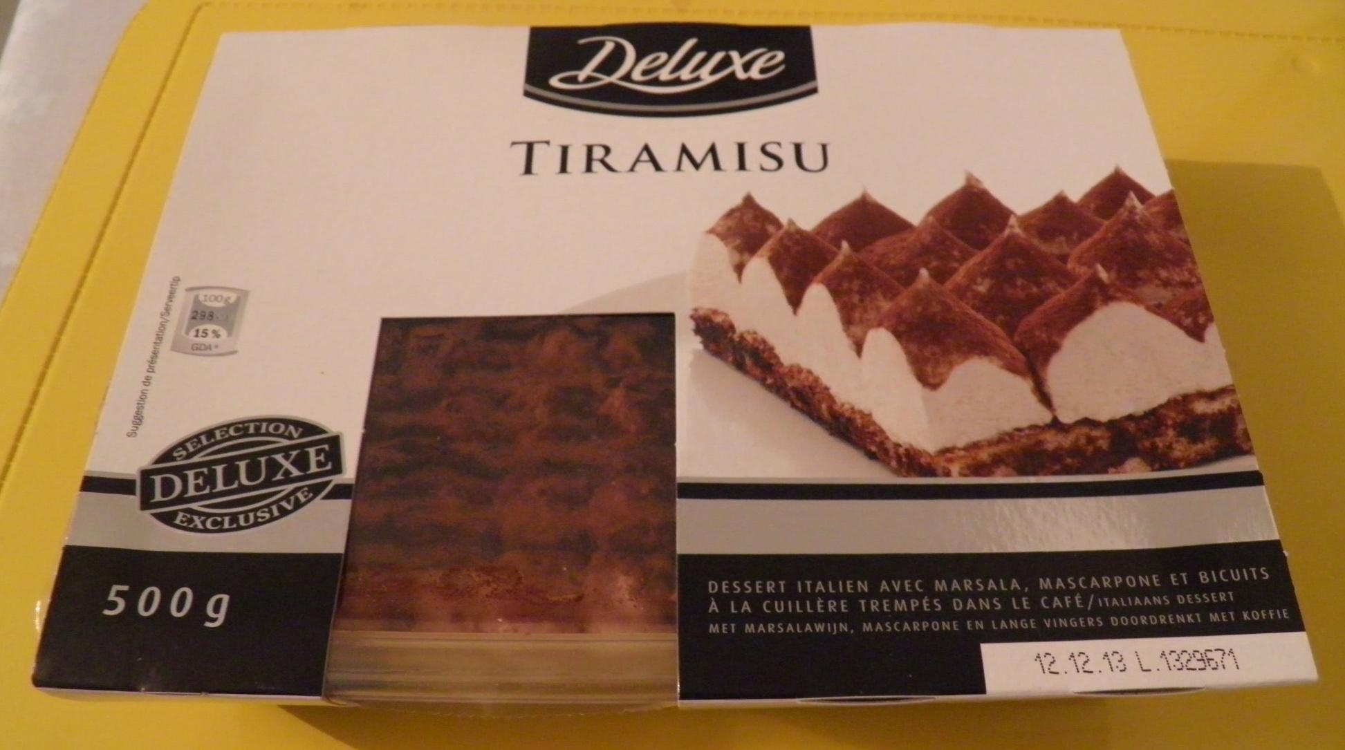 Tiramisu - Produit - fr