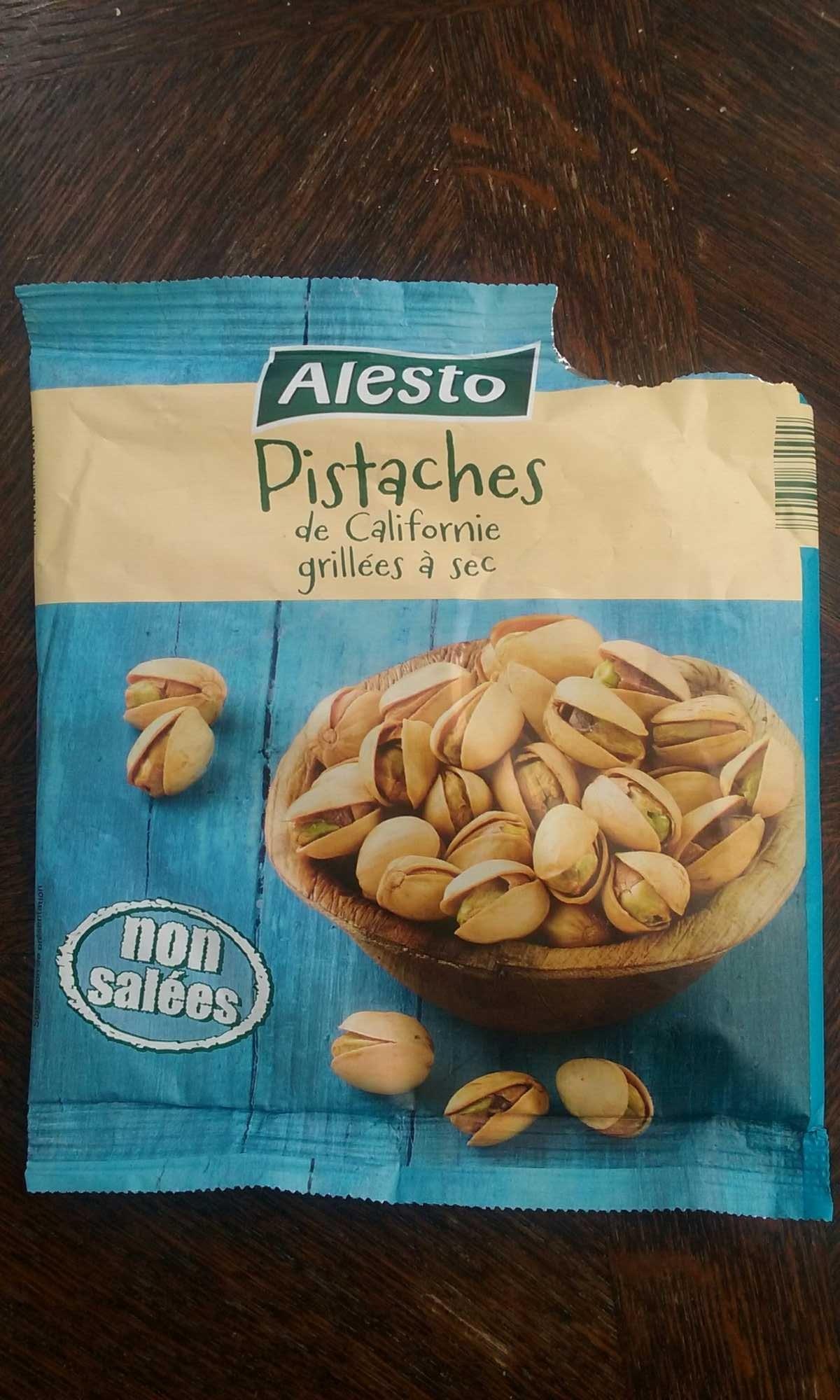 Pistaches de californe grill es sec alesto 250 g - Calories pistaches grillees ...