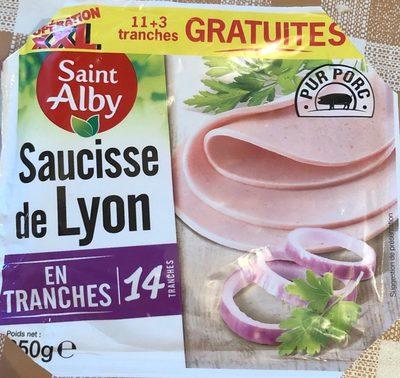 Saucisse de Lyon EN TRANCHES - Product
