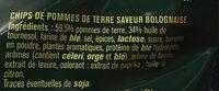 Saveur Bolognaise - Ingredients - fr