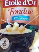 Fondue aux 3 fromages - Produit - fr