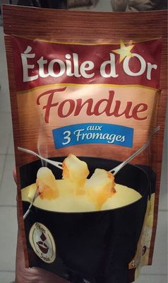 Fondue aux 3 fromages - Nutrition facts