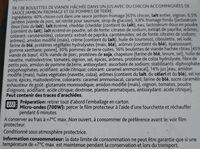 Brasserie - Ingrediënten - fr