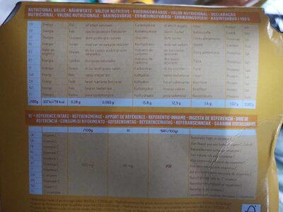 Kiwi Sungold - Nutrition facts - en
