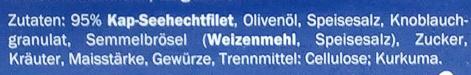 Kap-Seehecht Kräuter & Knoblauch - Ingredients - de