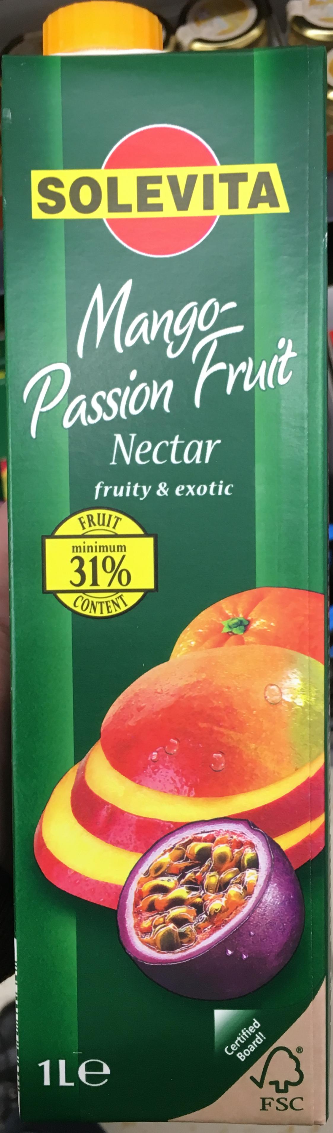 Nectar Mango- Passion Fruit - Product