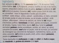 Lasagnes saumons & épinards - Ingrédients - fr
