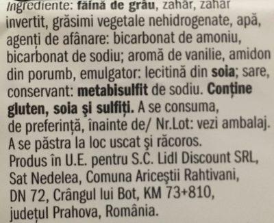 Petit beurre - Ingrediënten - fr