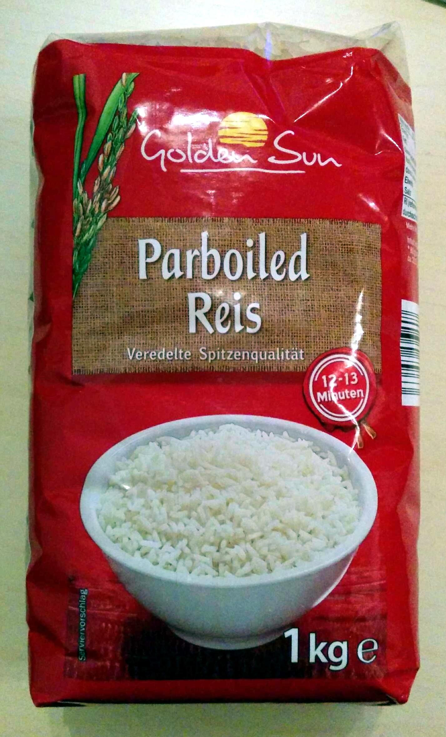 Parboiled Reis Golden Sun 1 Kg