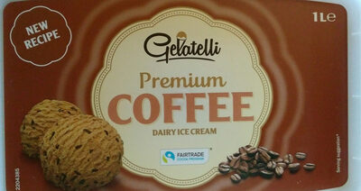 Premium COFFEE dairy ice cream - Produto - sl
