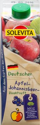 Apfel-Johannisbeersaft - Produkt