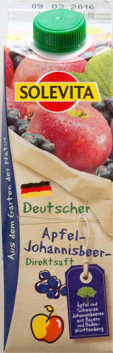 Apfel-Johannisbeersaft - Produkt - de