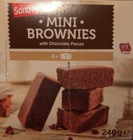 Mini Brownies - Product - fr