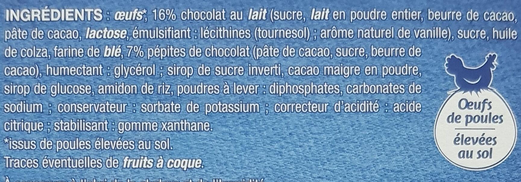 Mini Brownies - Ingrédients - fr